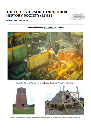 front cover of newsletter summer 2009